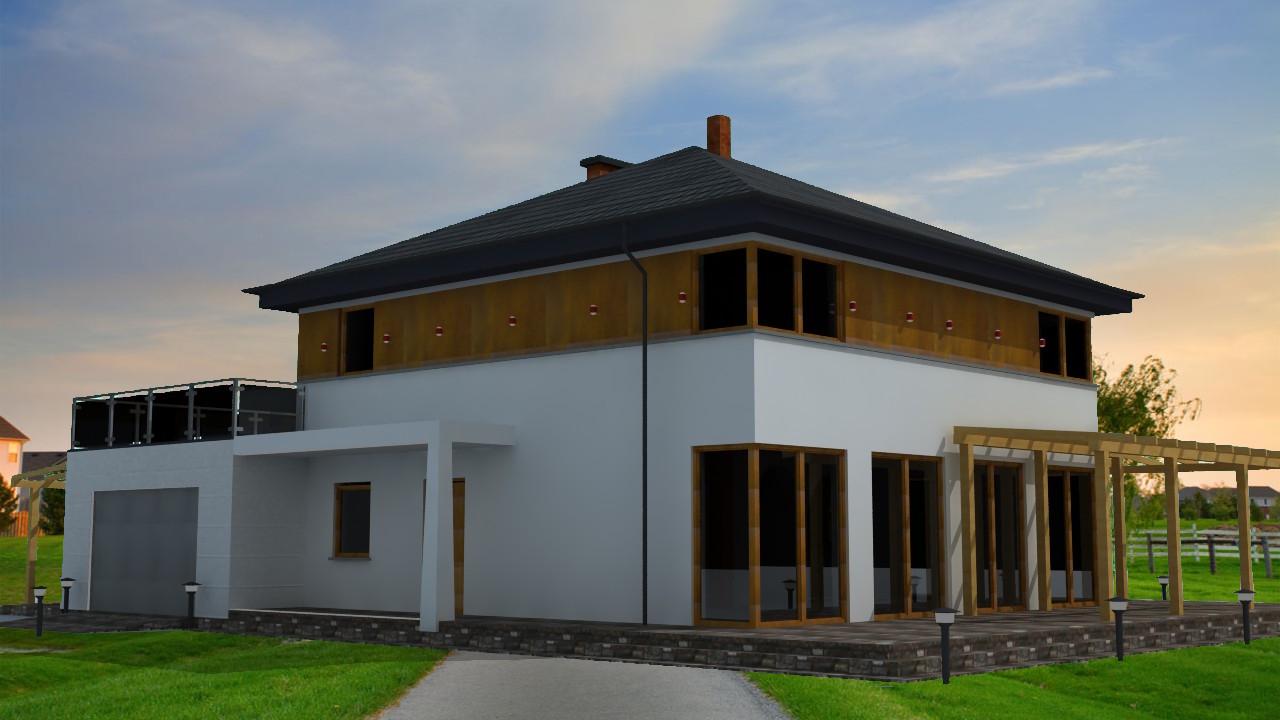 projekt domu dla kawalera